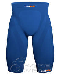 Zoned Compression Short 45 royal blue